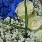 Orchidee blu e Rose bianche - Pepe Rosa Eventi