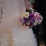 Silvia con il suo bouquet - Pepe Rosa Eventi