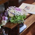 Sacchetti con ortensie, rose e lavanda - Pepe Rosa Eventi