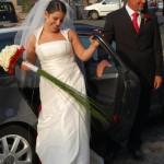 Fabiana e il suo bouquet - Pepe Rosa Eventi