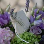 Ortensie, lisianthus e lavanda - Pepe Rosa Eventi