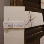 Partecipazioni personalizzate Claudio e Alessia - Pepe Rosa Eventi