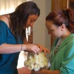Si lavora sul bouquet - Pepe Rosa Eventi