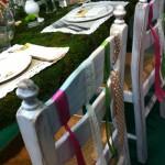 Dettaglio allestimento fiera a Latina - Pepe Rosa Eventi