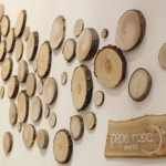 Allestimento parete con legno - Pepe Rosa Eventi