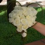 Il bouquet romantico della nostra sposa Francesca - Pepe Rosa Eventi