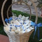 Tanti coni del riso per tanti invitati - Pepe Rosa Eventi