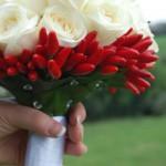 Dettaglio bouquet Fabiana - Pepe Rosa Eventi
