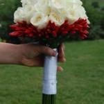 Bouquet di rose e peperoncini