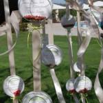 Tableau appeso con sfere Walter e Alexandra - Pepe Rosa Eventi